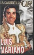 K7 Vidéo - VHS. Luis MARIANO. La Cassette D'OR. 21 Titres. - Comedy