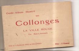 Guide Album Illustre De Collonges La Ville Rouges Carnet De 20 Vues - Zonder Classificatie