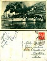 45c)  Cartolina Di Sibenik-(sebenico)-navi Nel Porto-viaggiata - Croazia