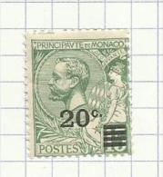 Monaco N°51 Neufs Avec Charnière  Côte 1.80 Euros - Neufs