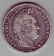 5 Francs. Louis Philippe I. 1831 BB  - - J. 5 Franchi