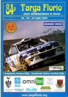 X 84 TARGA FLORIO 2000 RALLY INTERNAZIONALE DI SICILIA NUMERO UNICO 16 PAGINE   AUTOMOBILIA - Motori