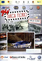X 94 TARGA FLORIO 2006 RALLY INTERNAZIONALE DI SICILIA PROGRAMMA  NUMERO UNICO 20 PAGINE  AUTOMOBILIA - Motori