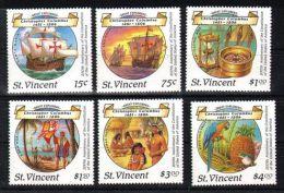 St.Vincent - 1988 Columbus MNH__(TH-4867) - St.Vincent (1979-...)