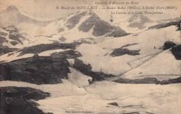 38 - Environs D'Allevard Les Bains - Massif Des Sept Laux - Rocher Badon, Blanc. Cantine Et Le Cable Transporteur. - Autres Communes