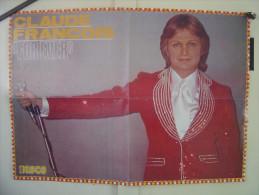 POSTER 42 X 59 Cm CLAUDE FRANCOIS Super Disco - Plakate & Poster