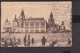 Ostende Le Kursaal et la Plage   Feldpost  1915