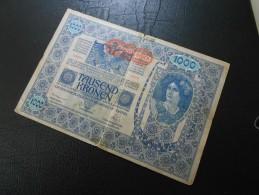 1000 Kronen Oesterreich-Ungarn Vom 2.Jänner 1902 - Autriche