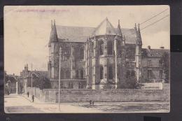 Soissons Eglise St - Leger   Feldpost  1918 gel. nach Aalen , stempel W�rtt.Gebirgs Bataillon