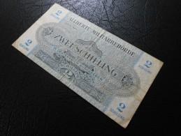 2 Schilling Oesterreich - Alliierte Militärbehörde - Autriche