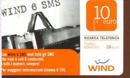 X WIND RICARICA Télécarte Phonecard Telefonkart TEMATICA MACCHINA DA SCRIVERE UFFICIO - Schede Telefoniche