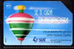 SIP Télécarte Phonecard Telefonkart - Italia