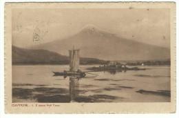 """1923, Giappone """" L Monte Fuji Yama"""" - Barche. - Trento"""