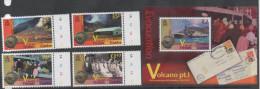 TRISTAN DA CUNHA ,2011, VOLCANOES, RESETTLEMENT PART I, SHIPS, BLACK AND WHITE PHOTOS, 4v+S/SHEET