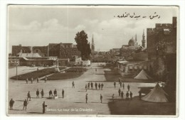 Damas - La Cour De La Citadelle. - Siria