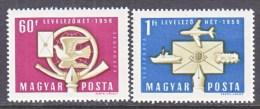 HUNGARY  C 185-6   *   U.P.U. - Airmail