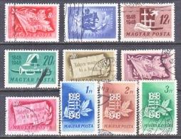 HUNGARY  829-38    (o) - Hungary