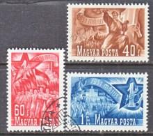 HUNGARY  935-7    (o)   LABOR  DAY - Hungary