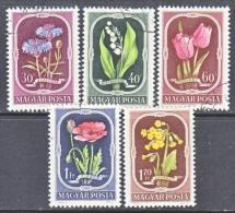 HUNGARY  974-8    (o)   FLOWERS - Hungary