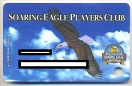 Soaring Eagle Casino, Mount Pleasant, MI,  U.S.A. older used slot or player�s card,  soaringeagle-2