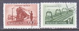 HUNGARY  1012-13    (o)   TRAIN   BRIDGE - Hungary