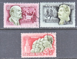 HUNGARY  1025-7   (o)   STALIN - Hungary