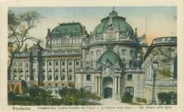 WIESBADEN - Nassauisches Landes-Theater Mit Foyer - Wiesbaden