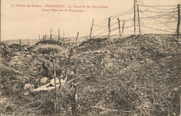 THIAUMONT - La Tranchée Des Baionnettes Avant L'érection Du Monument          -- CM Photo-Verdun - Altri Comuni