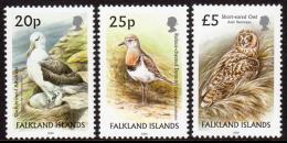 FALKLAND ISLANDS. 2006 BIRDS DEFINITIVES SET OF 3 MNH. - Falkland