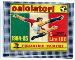 041> Pacchetto INTEGRO Di Figurine Calciatori Panini 1984-85 = NUOVO Ancora Da Aprire! - Trading Cards