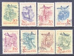 HUNGARY  C 191-8    (o) - Airmail