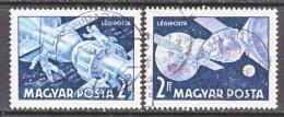 HUNGARY  C 285-6    (o)   SPACE  SOYUZ - Airmail