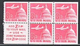 U.S.  C 64 B  BK.  PANE   **  SLOGAN  2 - Booklets