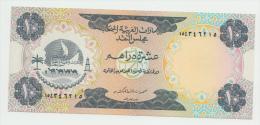 UNITED ARAB EMIRATES 10 DIRHAMS 1973 XF PICK 3 - Emirats Arabes Unis