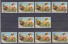 1990 -  EXPO CANINE  BRNO  Mi No 4605 Et Yv No 3871   BOXER - Usado