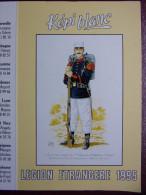 """Calendrier Petit Format : KEPI BLANC  """"Légion Etrangère"""" Légionnaire De 1ère Classe Du 2ème Régiment Etranger - Petit Format : 1991-00"""