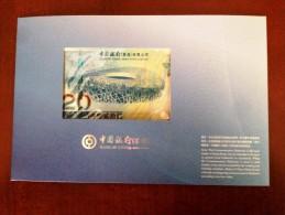 HONG KONG China 20 $  Beijing  2008  Olympic Commemorative  Banknote UNC - Hong Kong