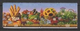 USA (2014) - Set -  /  Vegetables & Fruits  - Fruites - Food - Flowers - Fleurs - Frutas