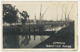 Ismailia Quartier Arabe  Air Mail 193? Envoi Au Comte De Grailly Cie Du Canal De Suez - Ismaïlia