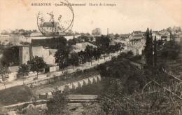ARGENTON - quartier chateauneuf - route de limoges