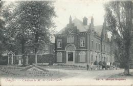 Gages - Château De M. De Lichtervelde - 1906 ( Voir Verso ) - Brugelette