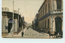 ROSARIO DE SANTA FE  - Calle Santa Fé. - Argentine