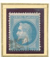 N°29 VARIETE CORNE AU FRONT. - 1863-1870 Napoleon III With Laurels