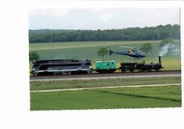 55 - LAMORVILLE - Locomotive Train T G V 4406 - CRAMPTON 80 - Hélicoptère - 2007 - Elicotteri