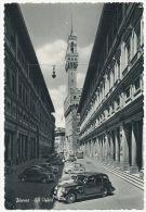 Firenze Gli Uffizi Palais Des Offices  Auto Cars Edit Innocenti - Firenze (Florence)