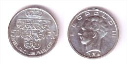 Belgium 50 Francs 1939 BELGIQUE-BELGIE Position B - 1934-1945: Leopold III