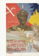 WWI Guerre 1914  Prestito Della Vittoria Emprunt Signed Costantini Art Card Oil Lamp Lampe A Huile - Italie