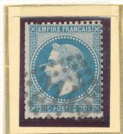 N°29 VARIETE CORNE A L'OEIL. . - 1863-1870 Napoleon III With Laurels