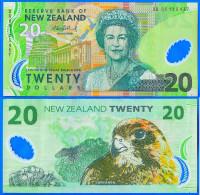 Nouvelle Zelande 20 Dollars 2006 Polymere Aigle Oiseau New Zealand Prefix DG Polymer - Nouvelle-Zélande