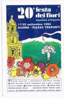 B2834 - Giarre, cartolina della 20� festa dei fiori 1994